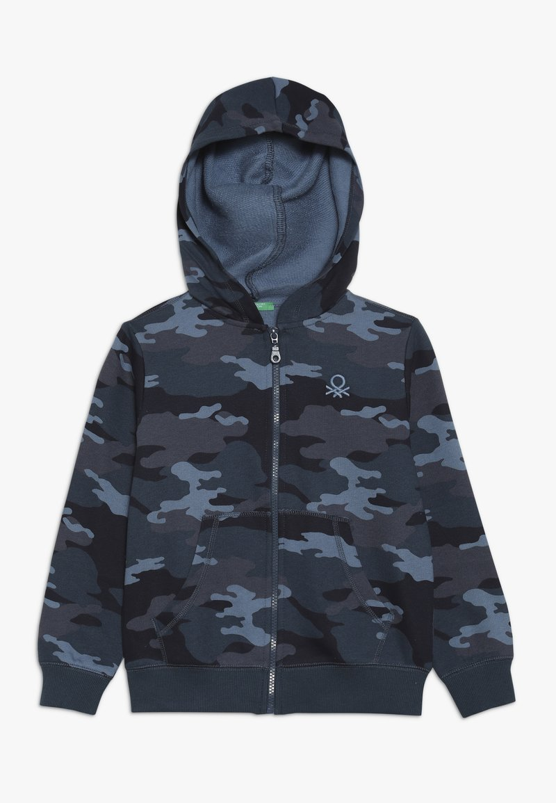 Benetton - JACKET HOOD - Sweatjakke /Træningstrøjer - dark blue