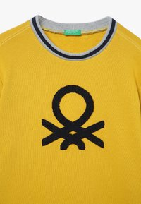 Benetton - SWEATER - Sweater - yellow - 3