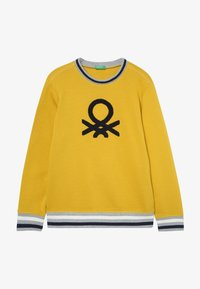 Benetton - SWEATER - Sweater - yellow - 2