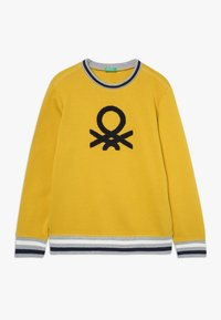 Benetton - SWEATER - Sweater - yellow - 0