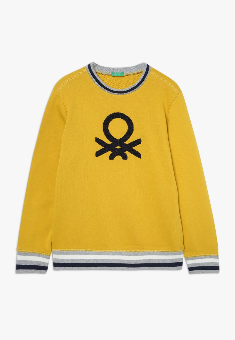 Benetton - SWEATER - Sweater - yellow