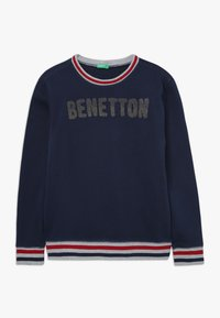 Benetton - SWEATER - Bluza - dark blue - 0