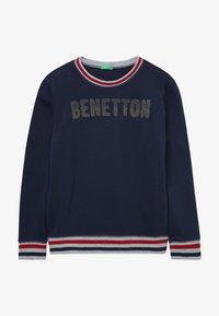 Benetton - SWEATER - Bluza - dark blue - 2