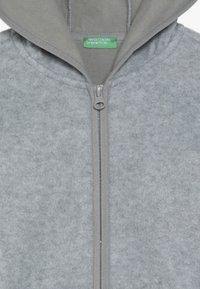 Benetton - JACKET HOOD - Fleecejakke - grey - 4
