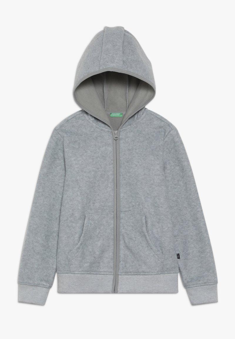 Benetton - JACKET HOOD - Fleecejacke - grey