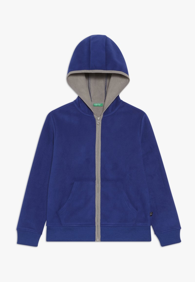 Benetton - JACKET HOOD - Fleecejakker - royal