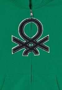 Benetton - Bluza rozpinana - green - 3