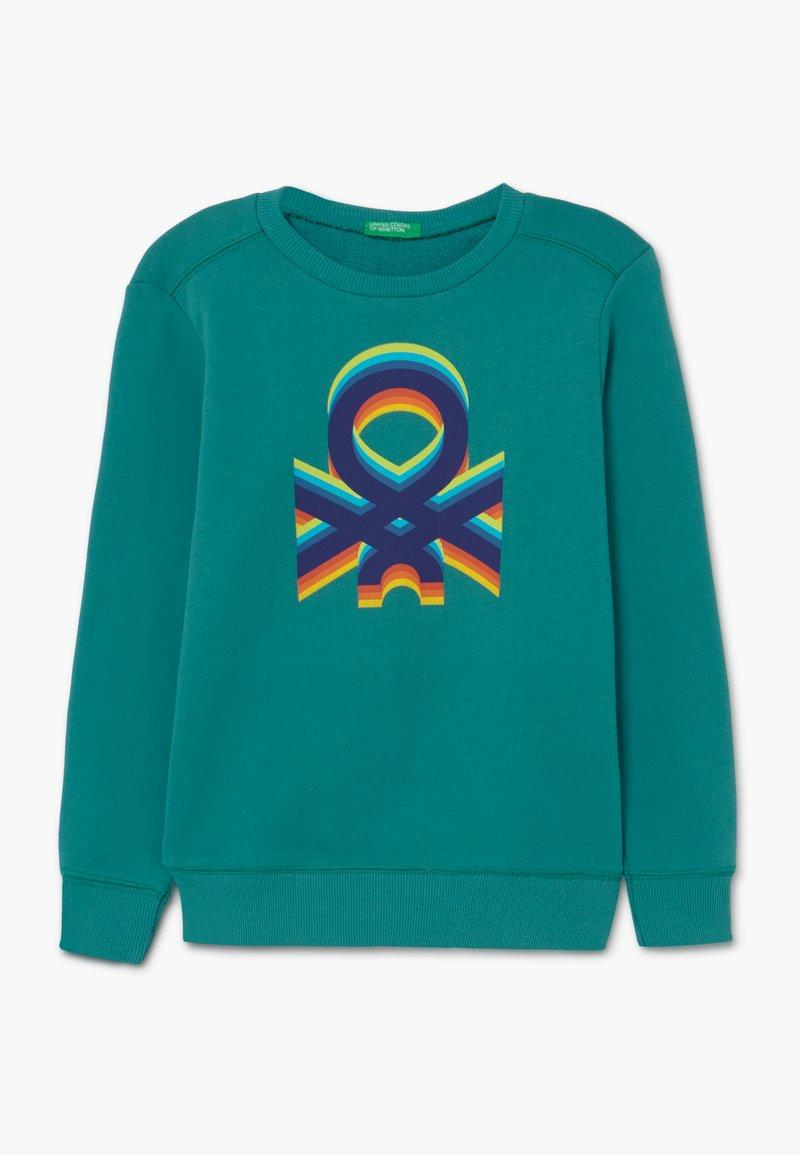 Benetton - Felpa - green