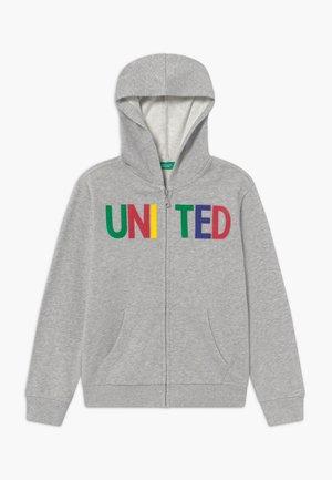 JACKET - Zip-up hoodie - grey