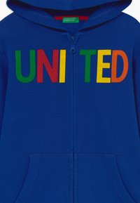 Benetton - JACKET - Mikina na zip - blue - 3