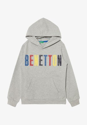HOOD - Hoodie - grey/red/yellow