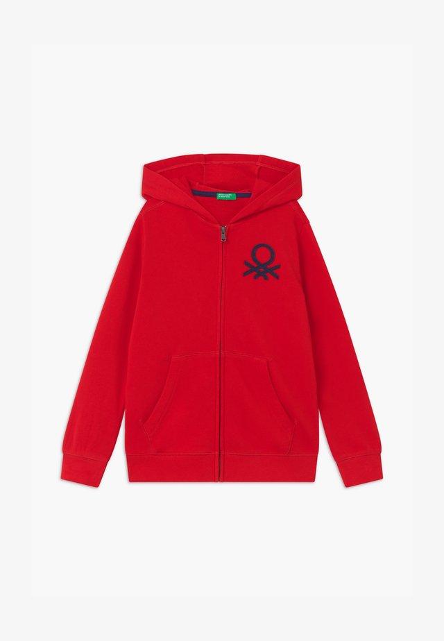 BASIC BOY  - Bluza rozpinana - red