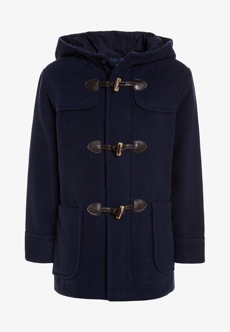 Benetton - HEAVY - Classic coat - dark blue