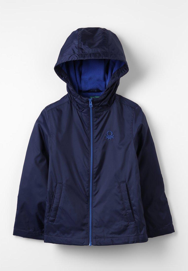 Benetton - JACKET - Fleecejas - dark blue