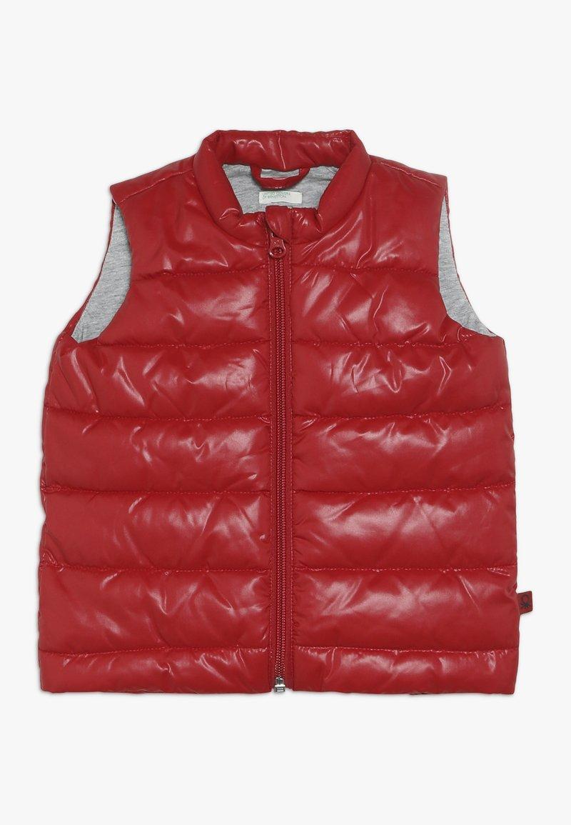 Benetton - Waistcoat - dark red