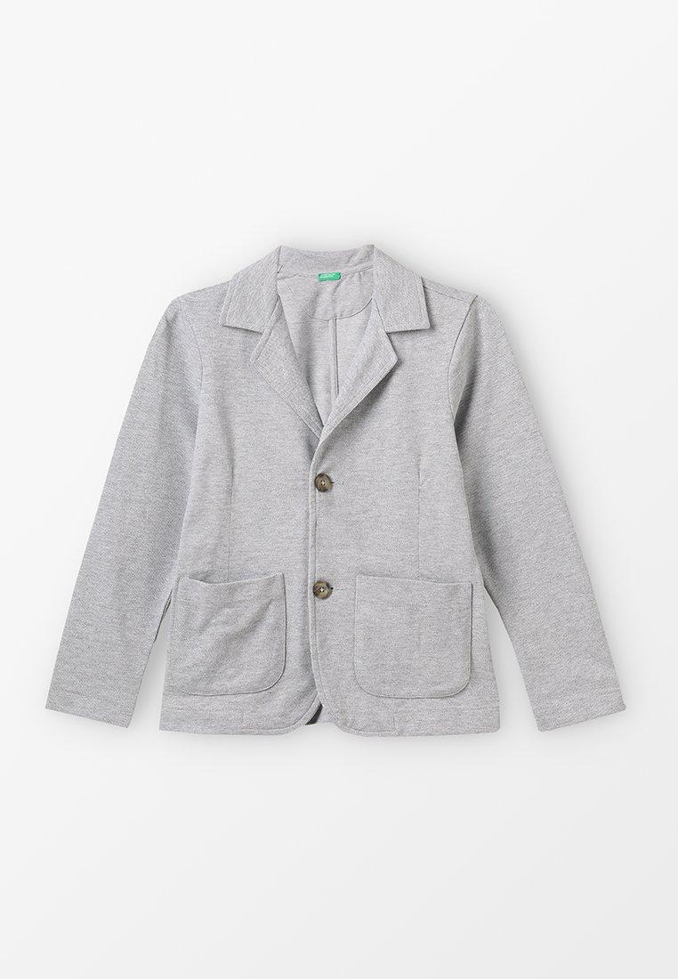 Benetton - JACKET - Blazer jacket - grey