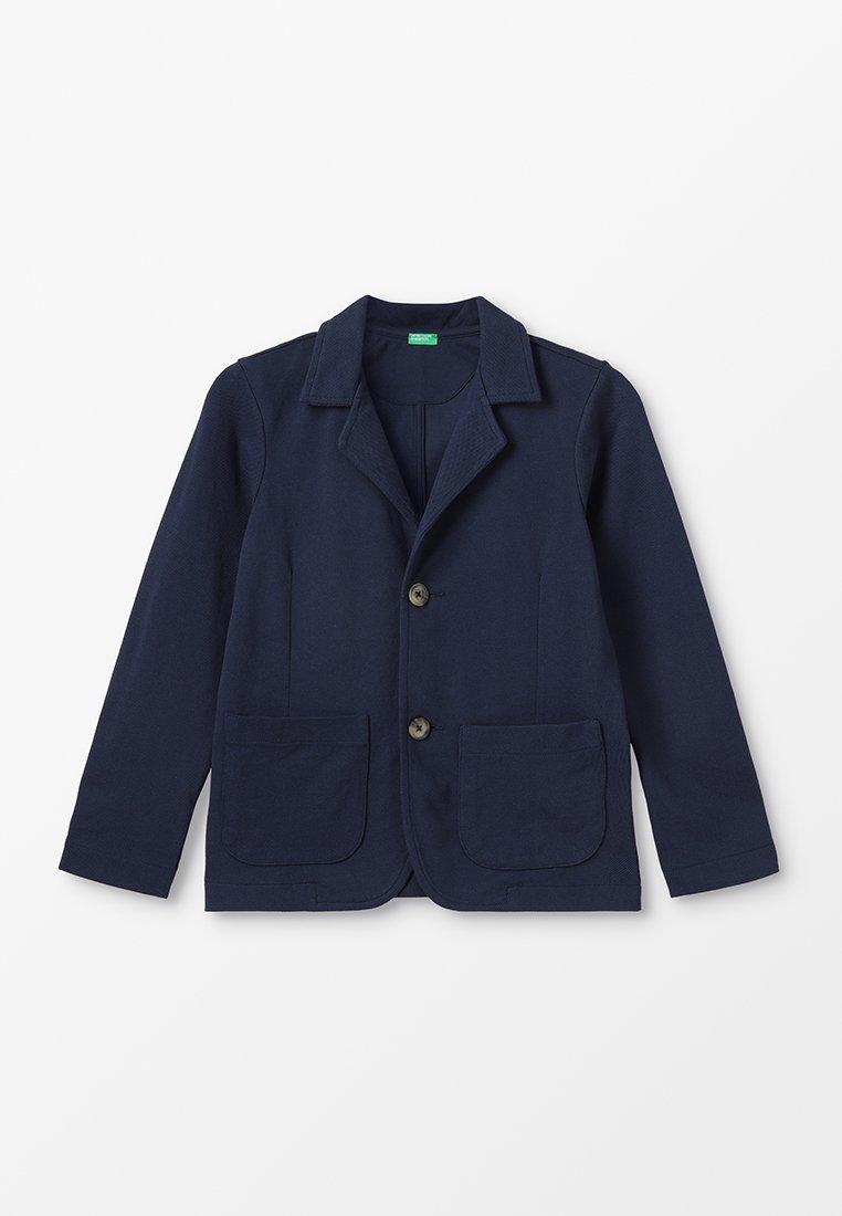 Benetton - JACKET - blazer - dark blue