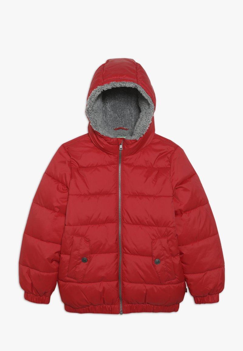 Benetton - JACKET - Zimní bunda - red