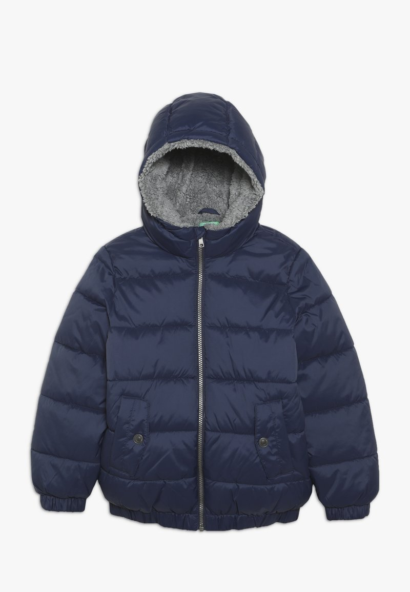 Benetton - JACKET - Zimní bunda - dark blue