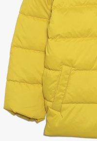 Benetton - JACKET - Untuvatakki - yellow - 2