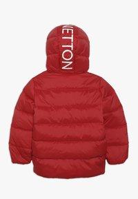 Benetton - JACKET - Piumino - red - 1