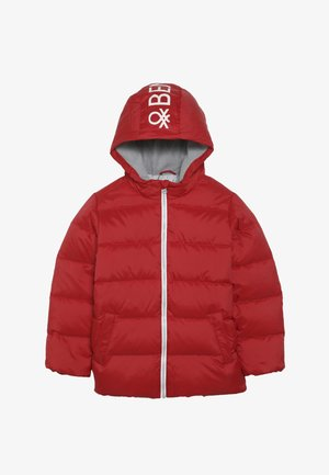 JACKET - Daunenjacke - red