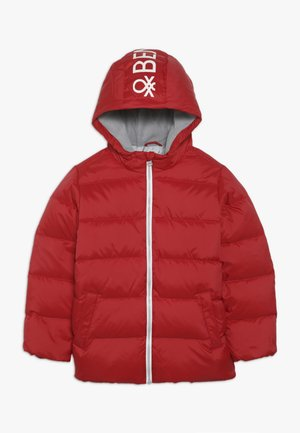 JACKET - Down jacket - red