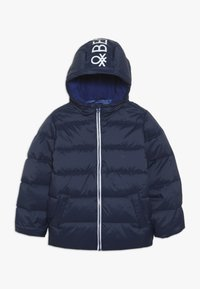 Benetton - JACKET - Piumino - dark blue - 0