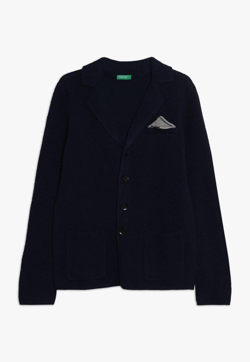Benetton - Chaqueta de punto - dark blue