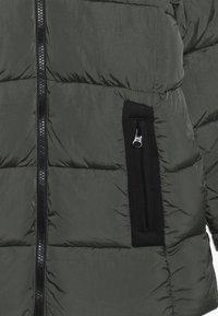 Benetton - Winter coat - khaki - 5