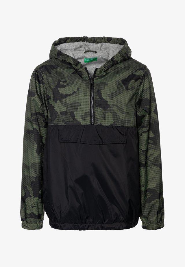 Light jacket - khaki/black