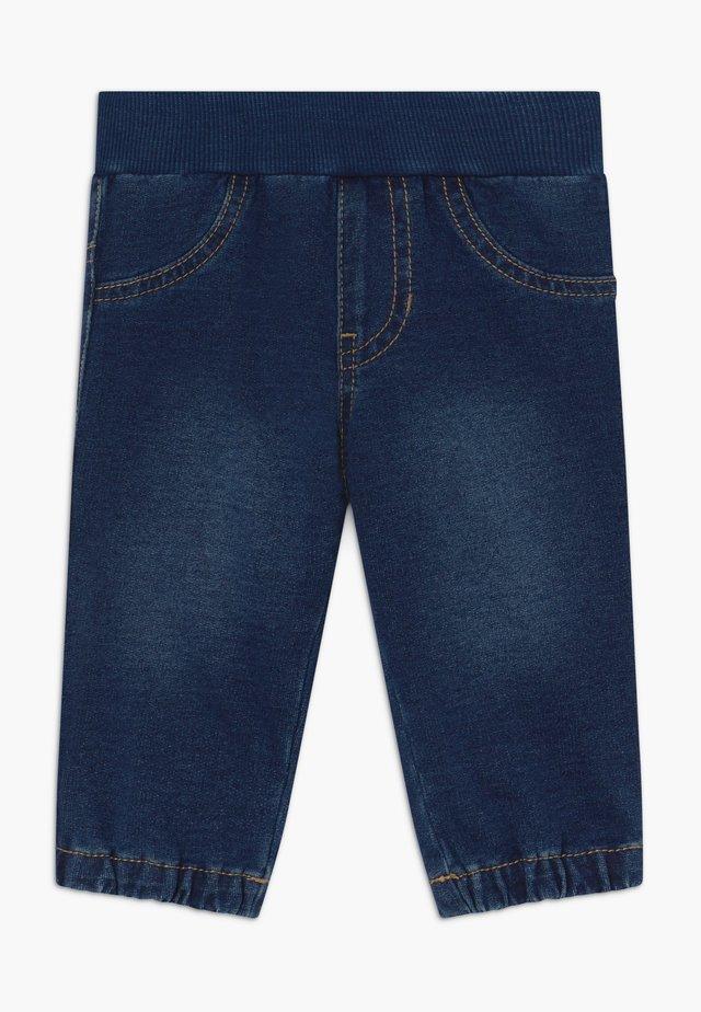 Tygbyxor - blue denim