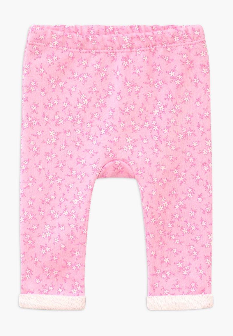 Benetton - Spodnie materiałowe - pink