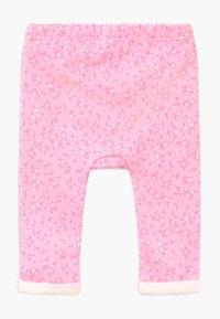 Benetton - Spodnie materiałowe - pink - 1