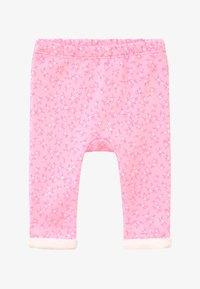 Benetton - Spodnie materiałowe - pink - 2