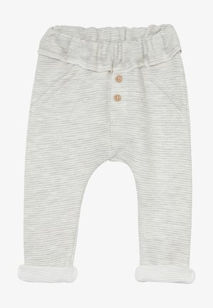 TROUSERS BABY ZGREEN - Teplákové kalhoty - light grey