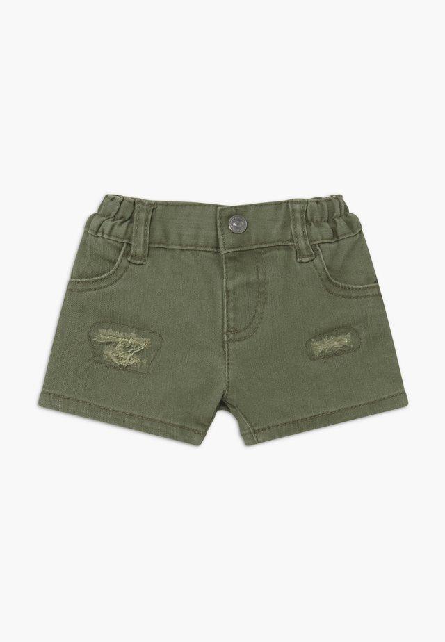 Shorts di jeans - khaki