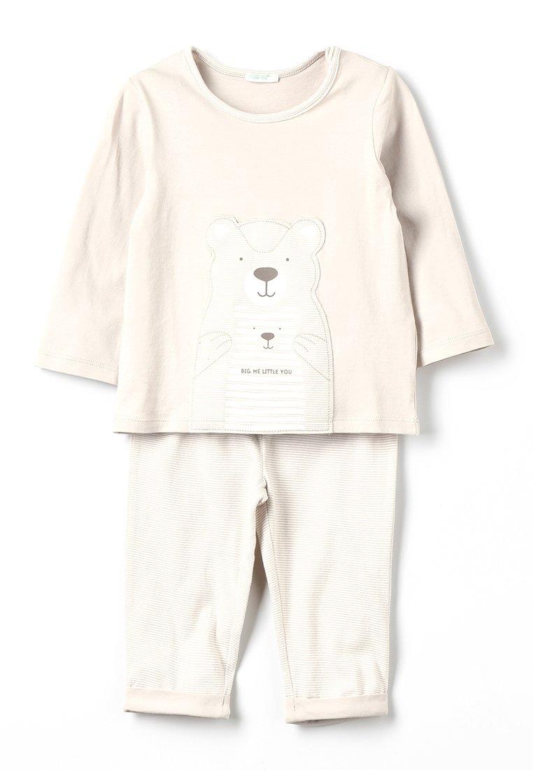 Benetton - BABY SET - Pyjama - grey