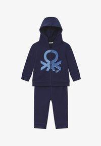 Benetton - SET  - Treningsdress - dark blue - 3