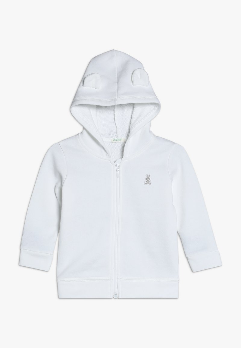 Benetton - JACKET HOOD BABY - Sweatjacke - white