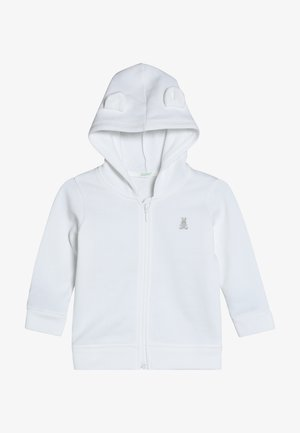 JACKET HOOD BABY - Sweatjacke - white