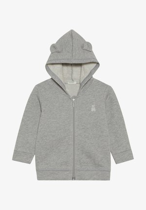 JACKET HOOD BABY - veste en sweat zippée - mottled grey