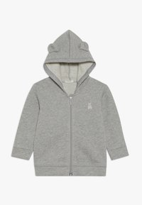 Benetton - JACKET HOOD BABY - Zip-up hoodie - mottled grey - 0