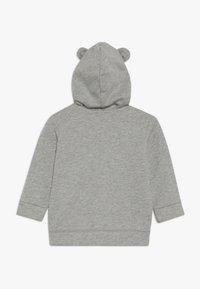 Benetton - JACKET HOOD BABY - Zip-up hoodie - mottled grey - 1