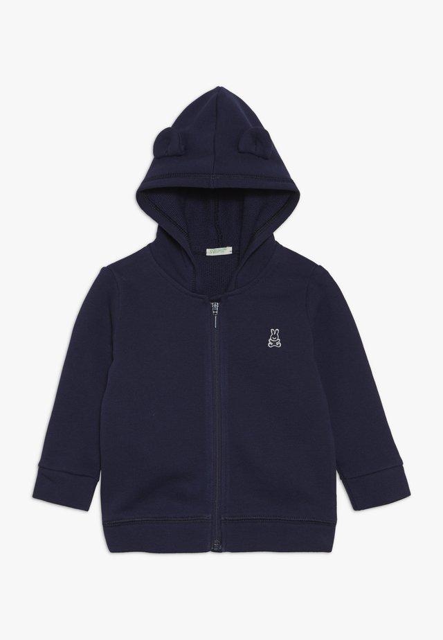 JACKET HOOD BABY - Felpa aperta - dark blue