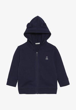 JACKET HOOD BABY - Mikina na zip - dark blue