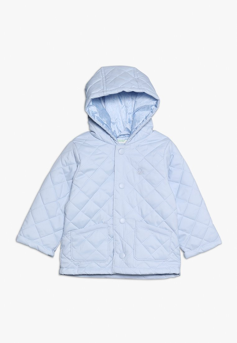 Benetton - JACKET - Lehká bunda - light blue