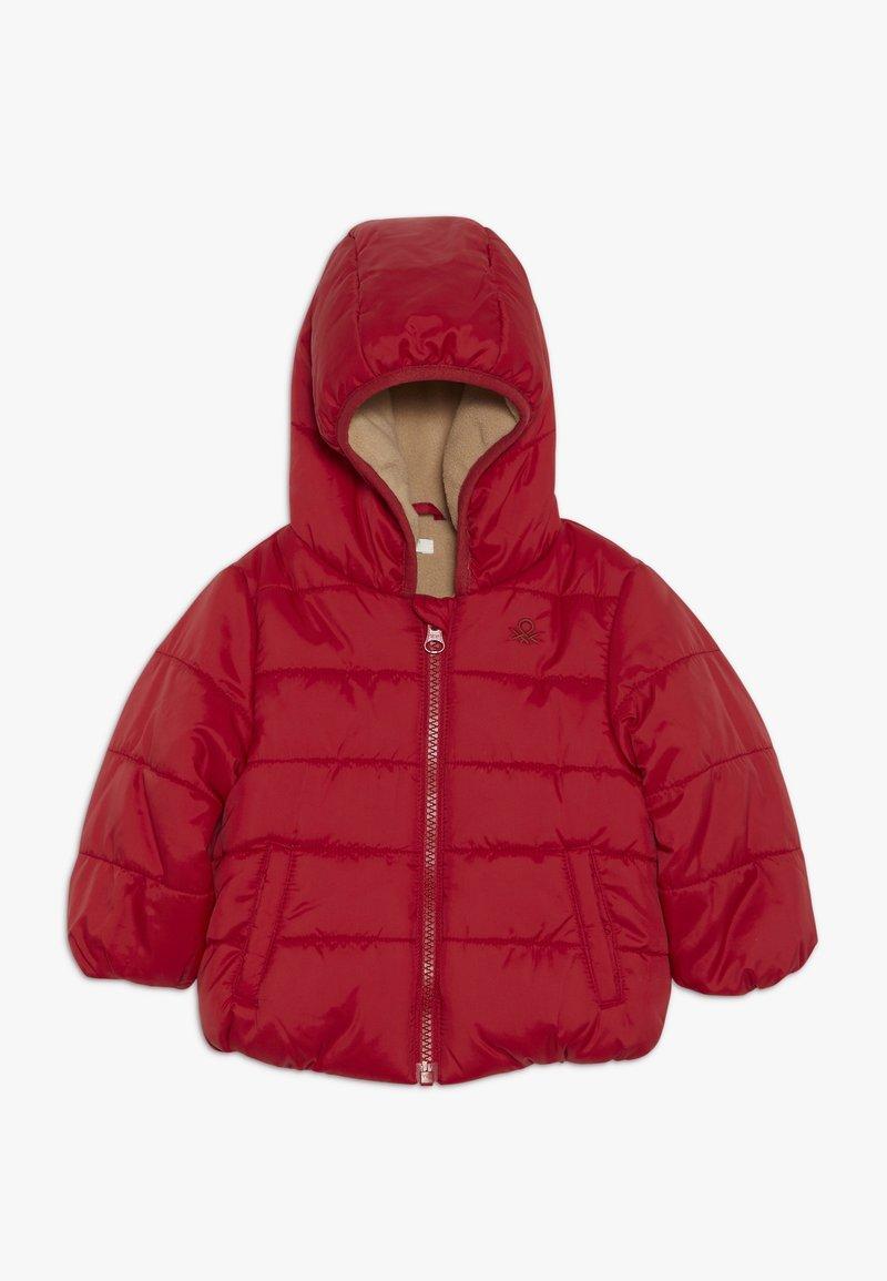 Benetton - JACKET - Winter jacket - red