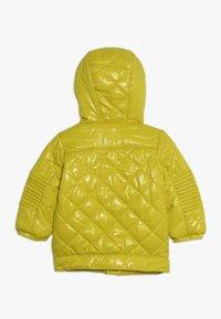 Benetton - JACKET - Chaqueta de invierno - yellow - 1