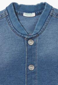 Benetton - JACKET - Mikina na zip - blue denim - 4
